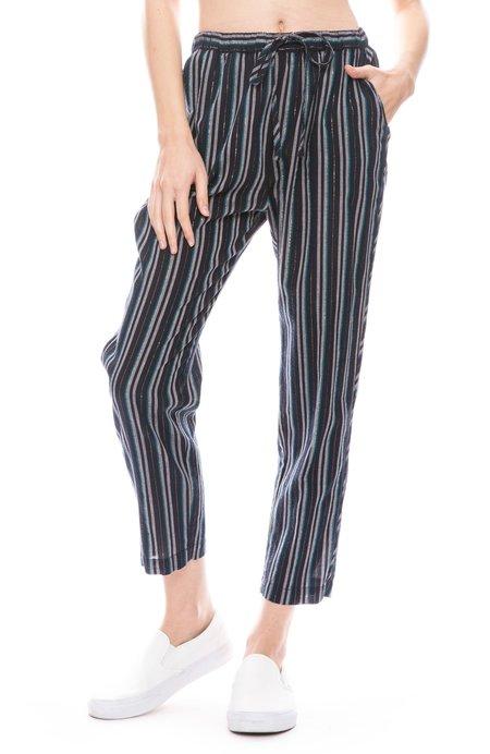 Xirena Kalvyn Winston Stripe Pant - NIGHT SPARK
