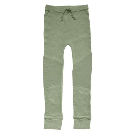kids Nico Nico Cypress Ribbed Leggings - Celery Green
