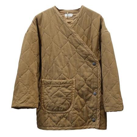 Nico Nico Nima Hip-Length Quilted Jacket - Curry Yellow