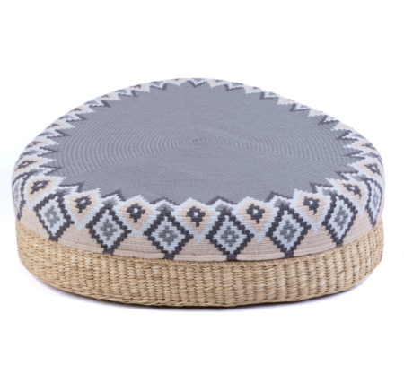 D.A.R. Projects Woven Pouf