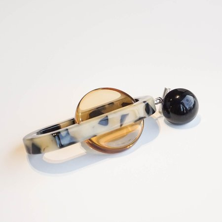 Rachel Comey Lohr Earrings - Dalmation Multi Acrylic