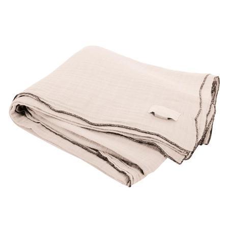 Moumout Paris Autumn Nappe Large Tablecloth - Milk White