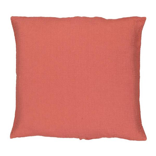 Moumout Paris Autumn Punto Pillow 45cm x 45cm - Brick Red