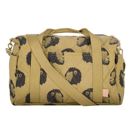 kids Moumout Paris Easy Duffle Bag - Khaki Green/Lion King Print