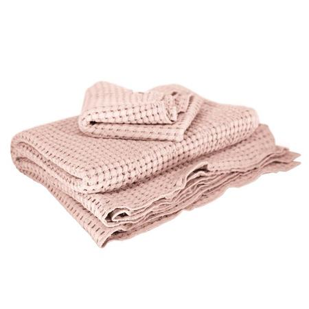 Kids Moumout Paris Large Honeycomb Towel Kit - Nu Pink