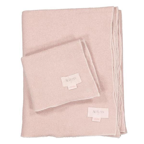 Kids Moumout Paris Small Honeycomb Towel Kit - Nu PInk