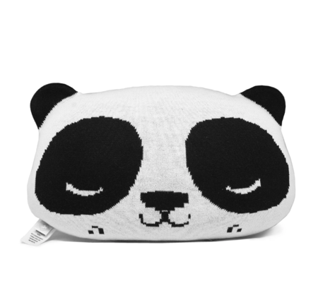 Kids Rian Tricot Panda Cushion