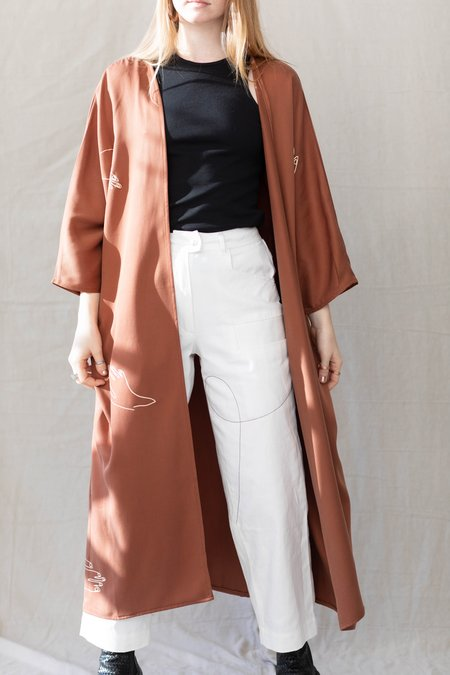 Millie + Lou Maron Jacket - Terracotta