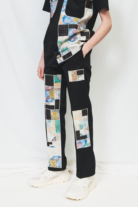 Axecents by Orah Lemaître Dickies Pant - Black Map