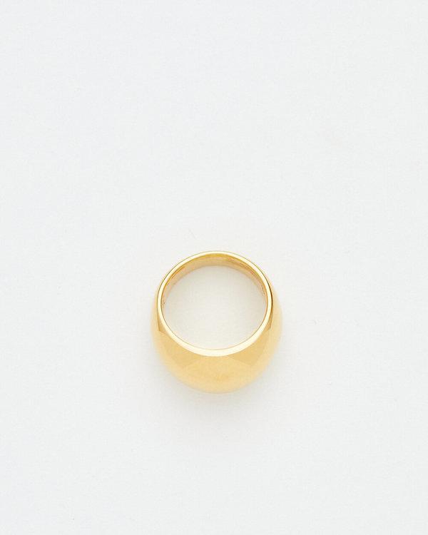 Luz Ortiz Dome Ring - Gold