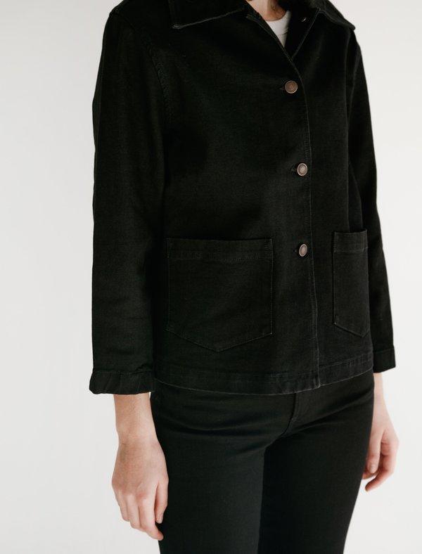 Jeanerica JW003 Workers Denim Jacket - Black Rinse