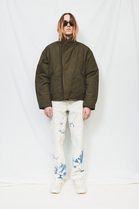 Monitaly Cotton Tanker's Jacket - Olive