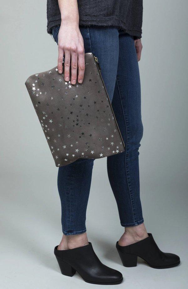 Kempton & Co Medium Pouch - Taupe Star