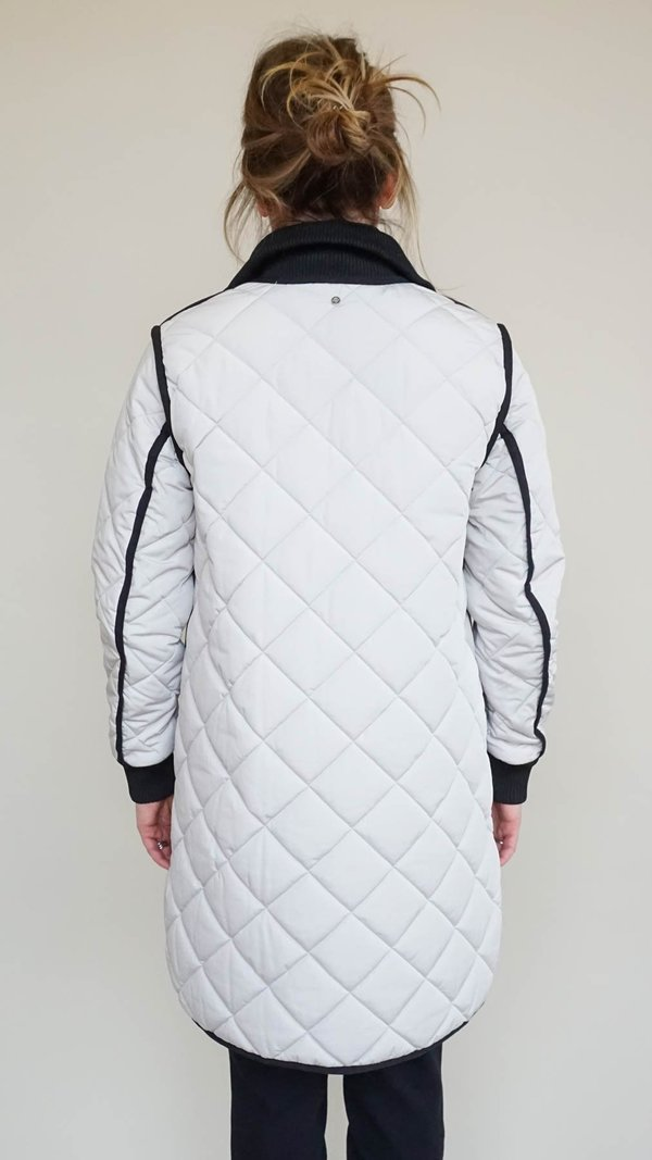 Sosken Gemma Quilted Jacket - Cement