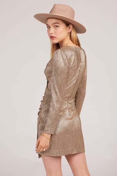 Amuse Society Last Dance Dress - Champagne
