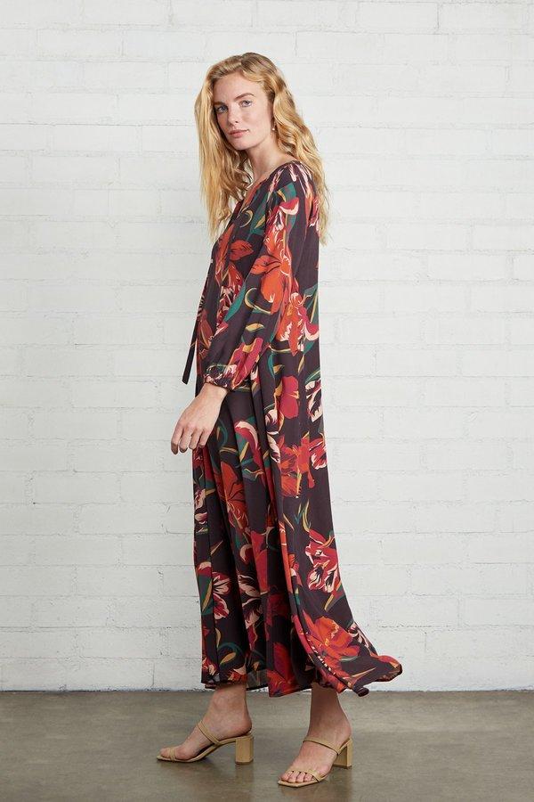 Rachel Pally Crepe Manon Dress - Tulip