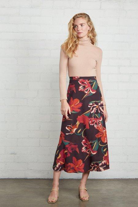 Rachel Pally Crepe Midi Skirt - Tulip