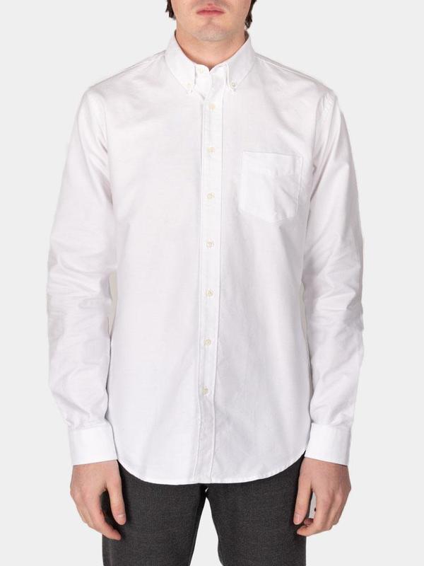 Schnayderman's Shirt Oxford One - White