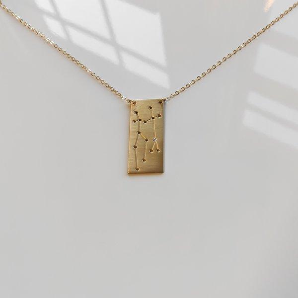 Thatch Signature Diamond Constellation Necklace - Gold