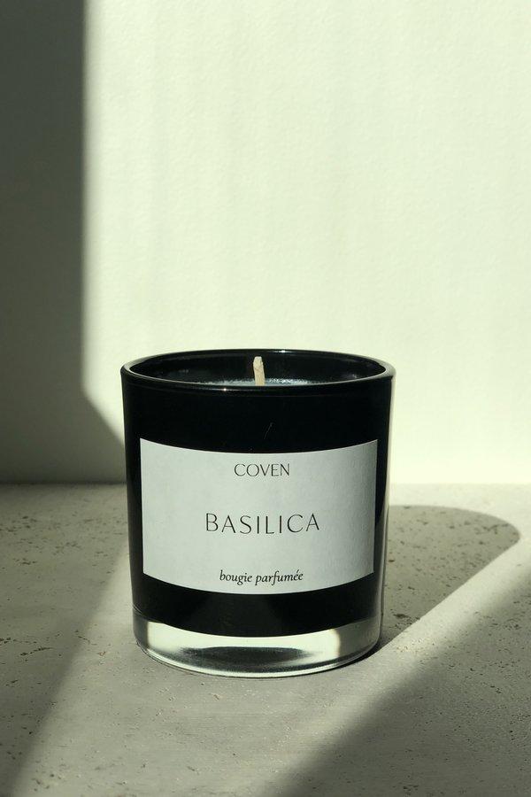 Coven Basilica Candle