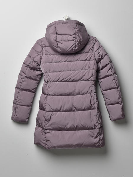 ADD DOWN HOODED DOWN COAT - LAVENDER