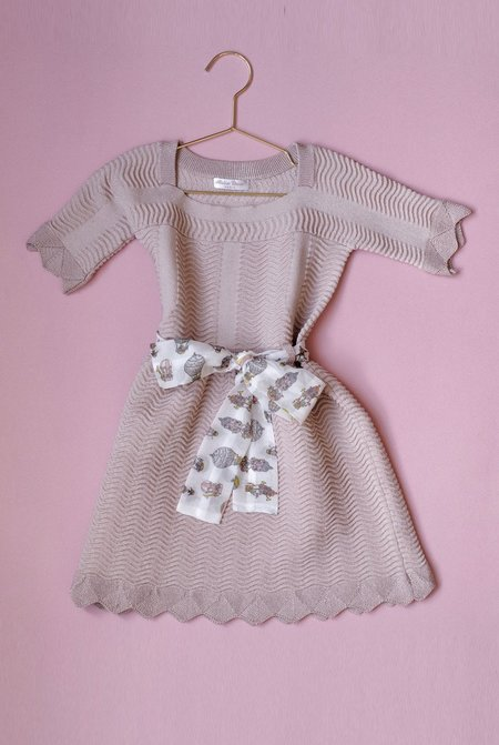 Kids Atelier Choux Knitted Dress
