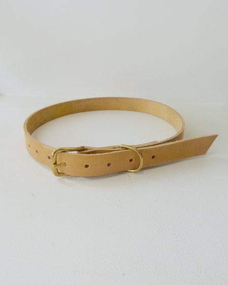 BB Shoemaker Classic Belt - Turmeric