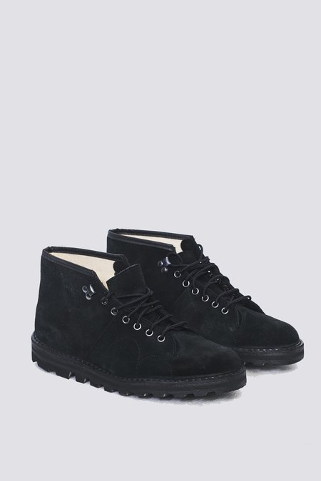 Reproduction of Found Czechoslovakia Military Boots - Black