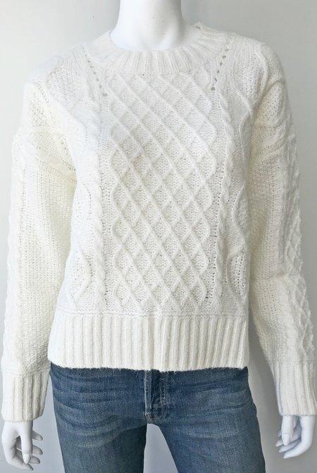 Line Alva Sweater - Snowfall