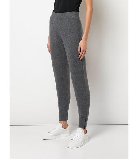 Duffy Ribbed Jogger - Grey