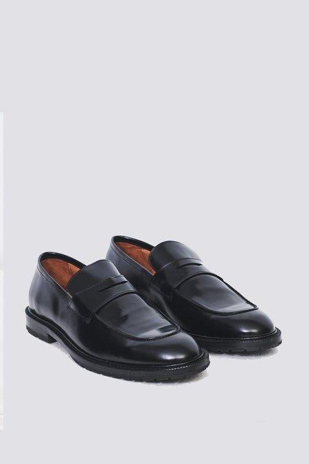Anthology Paris Leather Loafer - Black