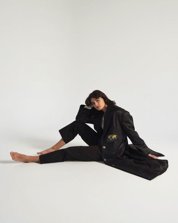 MM6 by Maison Margiela Coat - Black