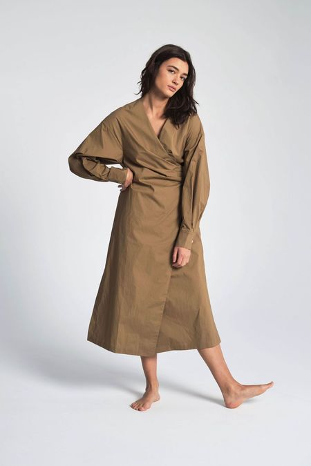 Shaina Mote Hira Dress - Khaki