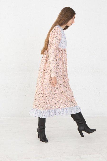 BATSHEVA Holly Dress - Stripe/Pink Floral