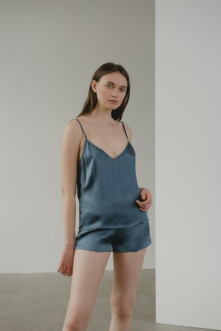 Kent KAM Organic Silk Camisole - Electric Blue