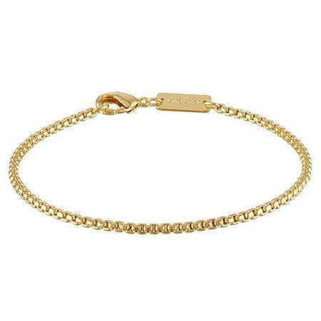 Machete Round Box Chain Bracelet