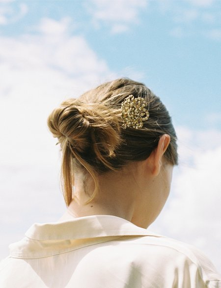 Vintage Fourth Antique Wedding Hair Pin