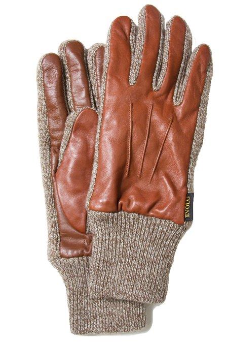 EvolG ELF Leather and Knit Smart Gloves