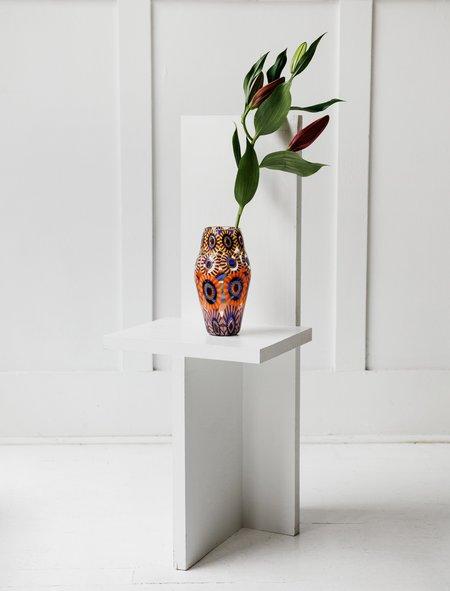 Found by Neighbour Tall Vase Tapered - Murrine Eye
