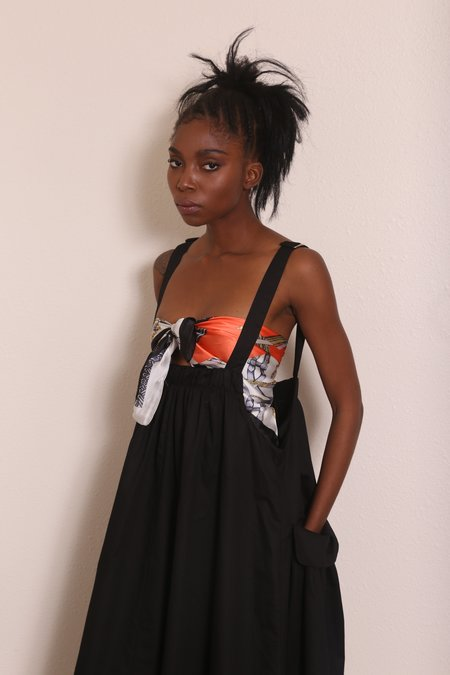 """INTENTIONALLY __________."" CLARKE Dress - Black"