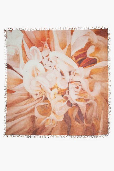 Chan Luu Cashmere/Silk Scarf - Calla Lilies