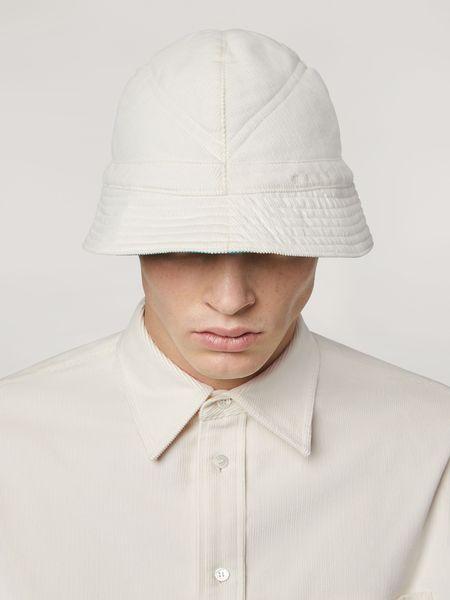 Marni Reversible Corduroy Bucket Hat - White