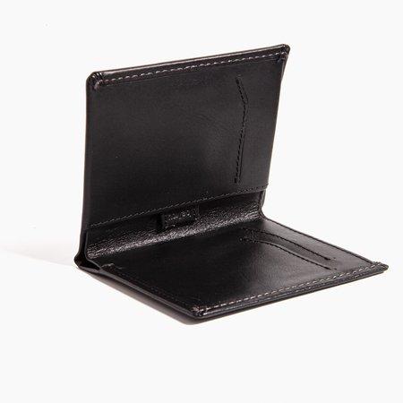 Poketo Note Sleeve Wallet - Black