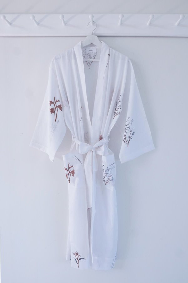 Karu Fynbos Print Bedding & Robe Gift Set