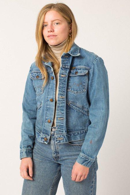 Vintage Light-wash Jacket - Denim