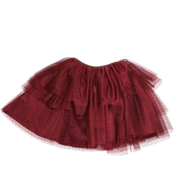 tia cibani flamenco tutu skirt berry