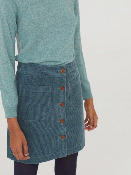 Nice Things Corduroy Skirt - Granite