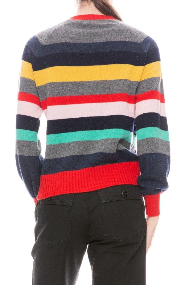 27 Miles Everest Stripe Sweater - Skate Night