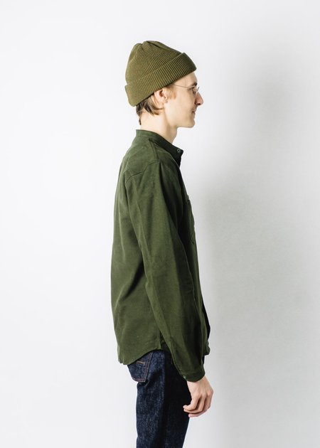 INDIGOFERA MOLESKIN MUIR SHIRT - Green