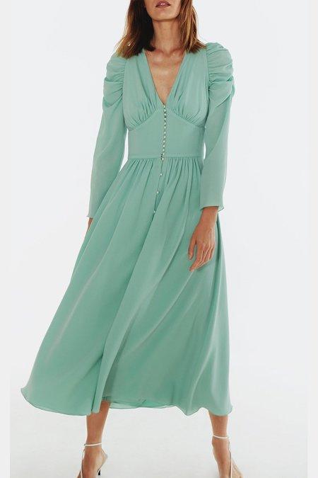 ANNA OCTOBER GARDENIA DRESS
